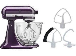 Kitchenaid Stand Mixer Ksm154gb 5 Qt W Glass Bowl Flex