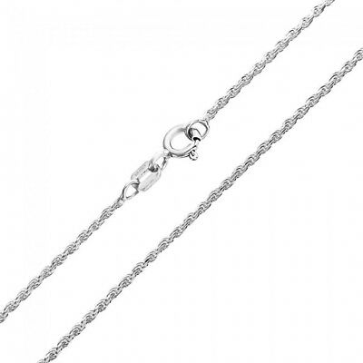 Sterling Silver Singapore Rope Chain 2mm 925 Italy New Twisted Curb Necklace