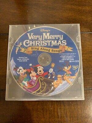 Disney's Sing Along Songs - Very Merry Christmas Songs DVD Please Read 786936199765   eBay
