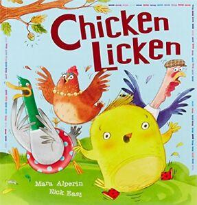 Chicken-Licken-My-First-Fairy-Tales-by-Alperin-Mara-NEW-Book-FREE-amp-FAST