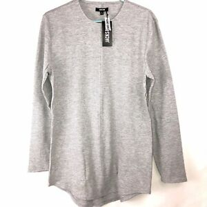 Jackson Men/'s Curved Hem Extended Length Tee T-Shirt Waffle Weave Size S,M,L,XL