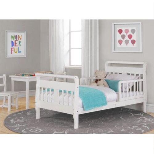 cheap toddler bed frame bedroom furniture kids children wood espresso white home new - Cheap Toddler Bed Frames