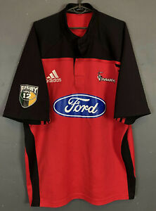Adidas Homme Rugby Union croisés 2003/2004 Home Shirt Jersey Maillot Taille XL