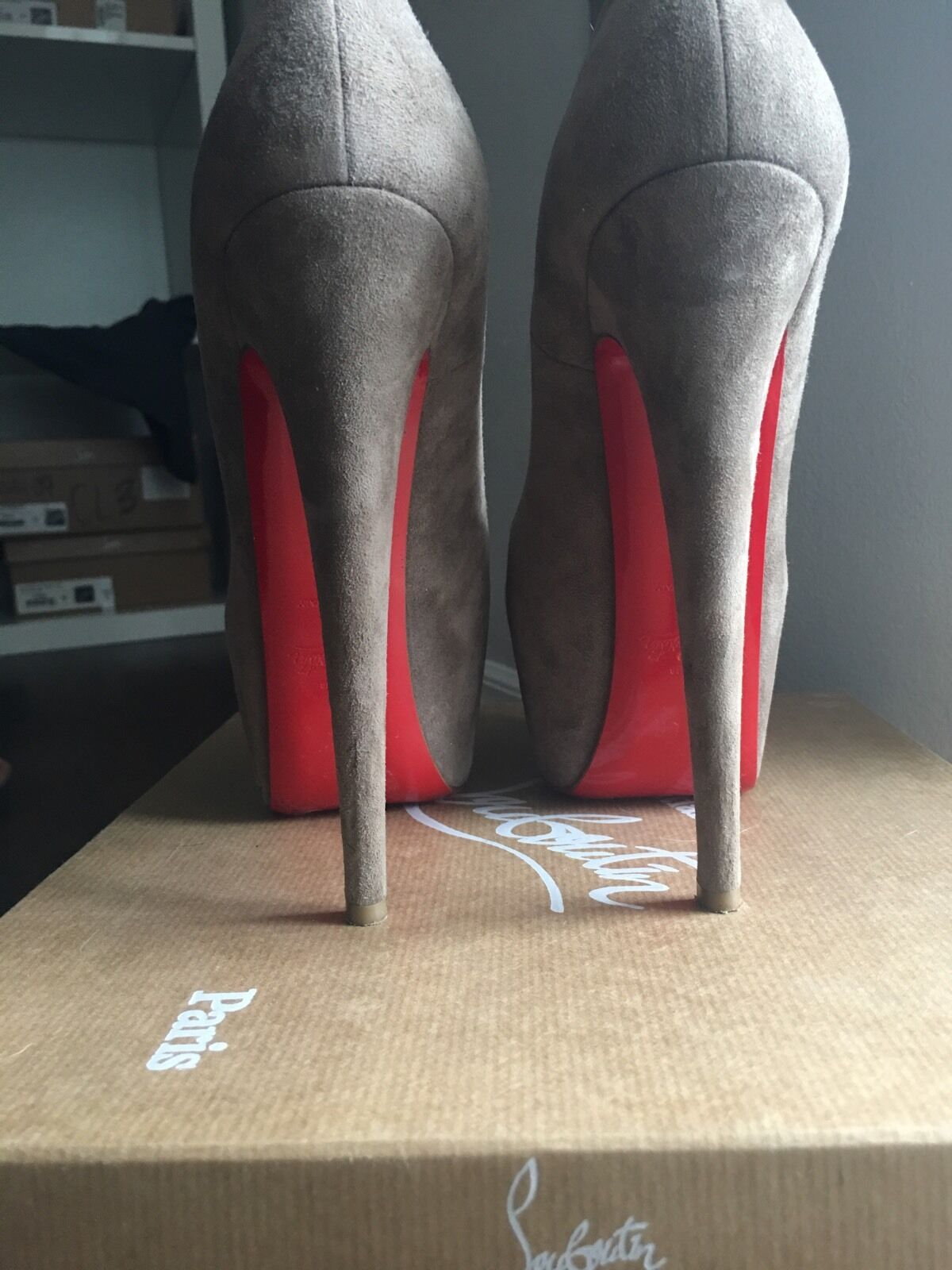 Women's christian louboutin shoes heels sz37 sz37 sz37 2027bb