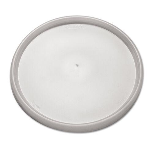 DART Plastic Lids Fits 24-32oz Cups Translucent 500//Carton 48JL