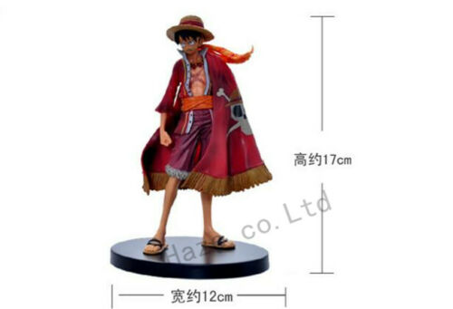 """17CM Anime One Piece Monkey D Luffy Action Figure PVC Toy 6.5/"""" with Box Gift"""