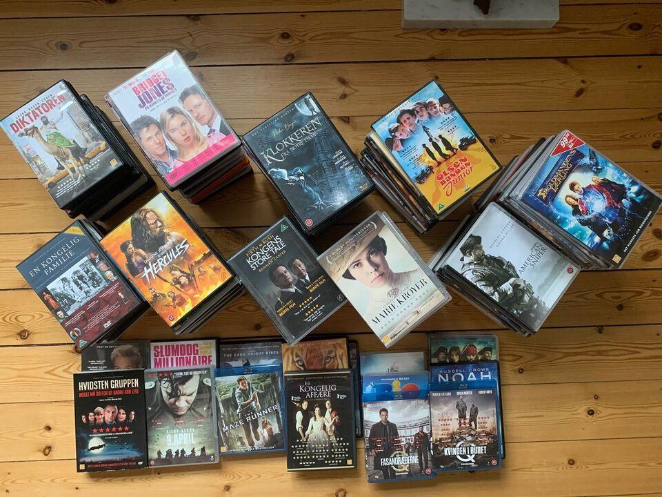 DVD&Blu-Ray samling - over 150 film , DVD, action