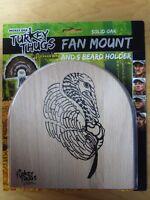 Quaker Boy Turkey Thugs Fan Tail Beard Mount Kit Solid Oak 99801
