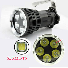 Super Bright 5x CREE XM-T6 LED 10000Lm LED Flashlight Torch Spotlight