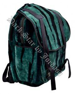 Travel y verde Bag Back Jordash de Dye Tie Mochila negro Large terciopelo Mochila 400a7fqw