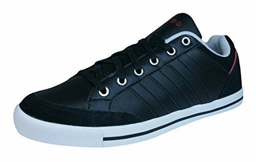 ADIDAS CACITY LEATHER MENS TRAINERS UK SIZES NAVY BLUE/LIGHT BLUE/WHITE Casual wild