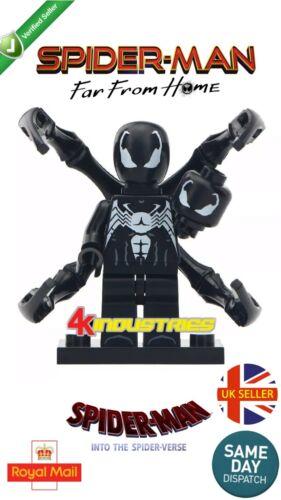 Marvel Spiderman Classic Spider-man Venom Mini Figure Comic Suit UK Seller