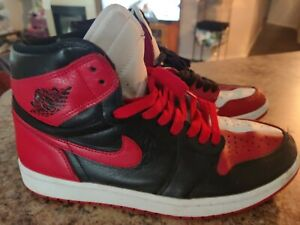 Nike Air Jordan 1 Retro High 85 Varsity Red Leather Shoes Mens sz 11 M