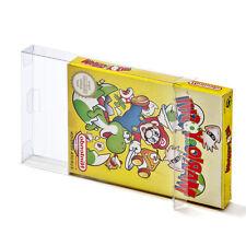 10 Box Protectors for Nintendo NES Sleeves Boxed Games CIB Plastic Case Archival