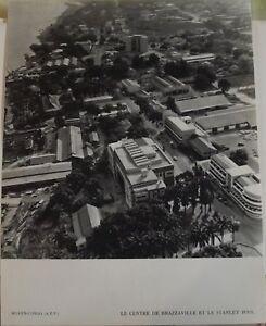 1954-Moyen-Congo-A-E-F-le-Centre-de-Brazzaville-amp-le-Stanley-Pool