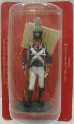 """Soldatini Napoleonici In Piombo """"granatiere, 1813"""" Mm 54 Con Le Attrezzature E Le Tecniche Più Aggiornate"""