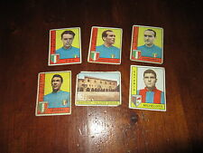 ALBUM PANINI CALCIATORI 1962-63 LOTTO DI 6 FIGURINE RECUPERATE