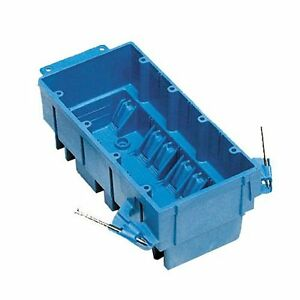 2 betts bh464a new work switch outlet wiring junction box 4 blue ebay