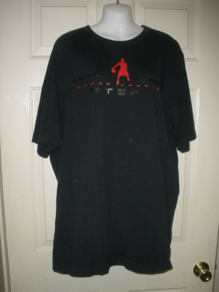 #145 XL Under Armour Sports Football Charged Cotton Heat Gear Lethal First Step