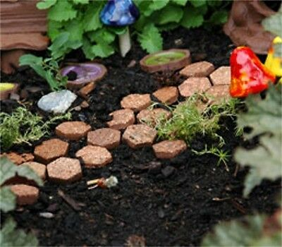 Miniature Dollhouse FAIRY GARDEN ~ Pixie Pavers – Set of 50 ~ NEW