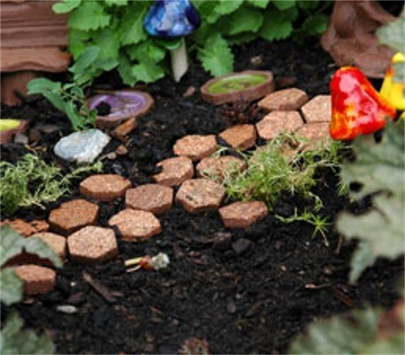 Miniature Dollhouse FAIRY GARDEN ~ Pixie Pavers – Set of 50 ~ NEW