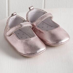 Pink-Shiny-Leather-Baby-Ballet-Pumps-UK-3-6-Months-EU-17-LG079-AA-01