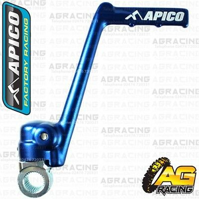 Apico Blue Kick Start Kick Starter Lever Pedal For Yamaha YZ 250X 2018