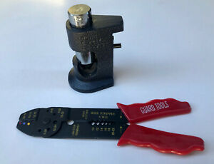 """Large Gauge Hammer Crimper  Tool 1//0 to 8 Gauge AWG Quality 8/"""" Cable Cutter"""