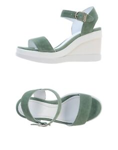 RUCO-LINE-Marge-Summer-Suede-Wedges-Eur-39-US-9-New-in-box