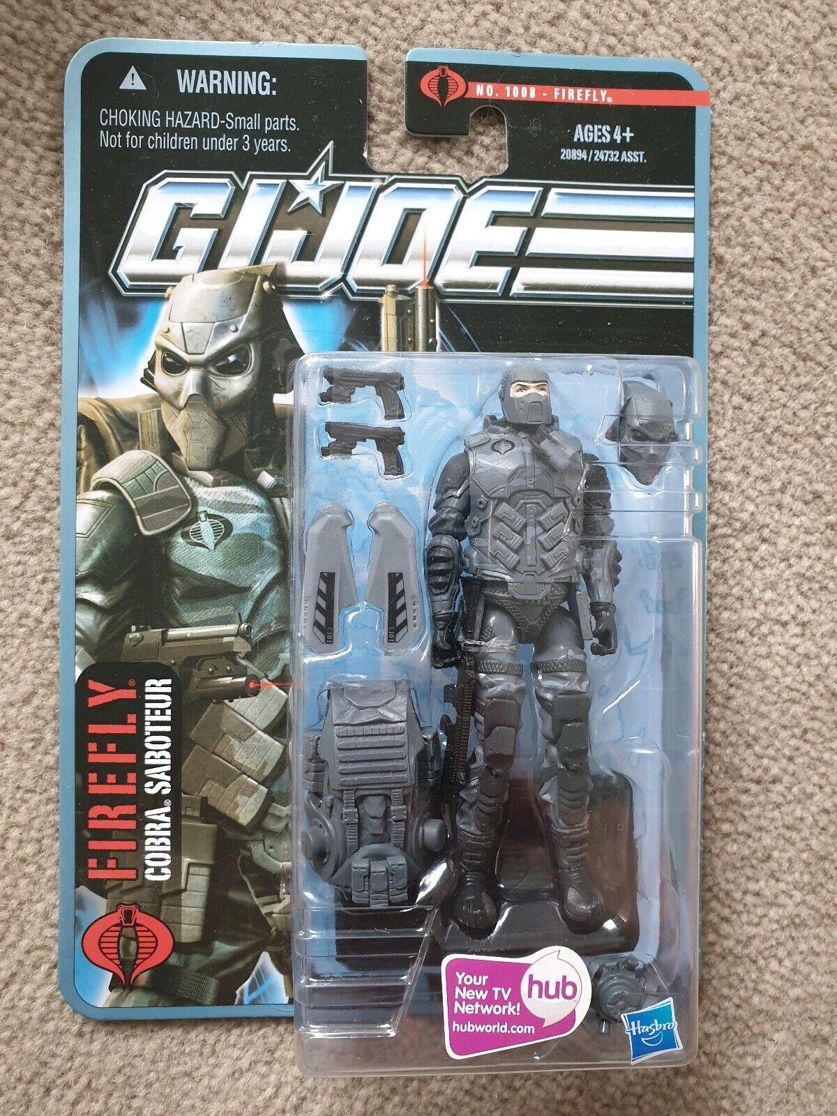 GI Joe Joe Joe pursuit of cobra POC saboteur firefly 8cb