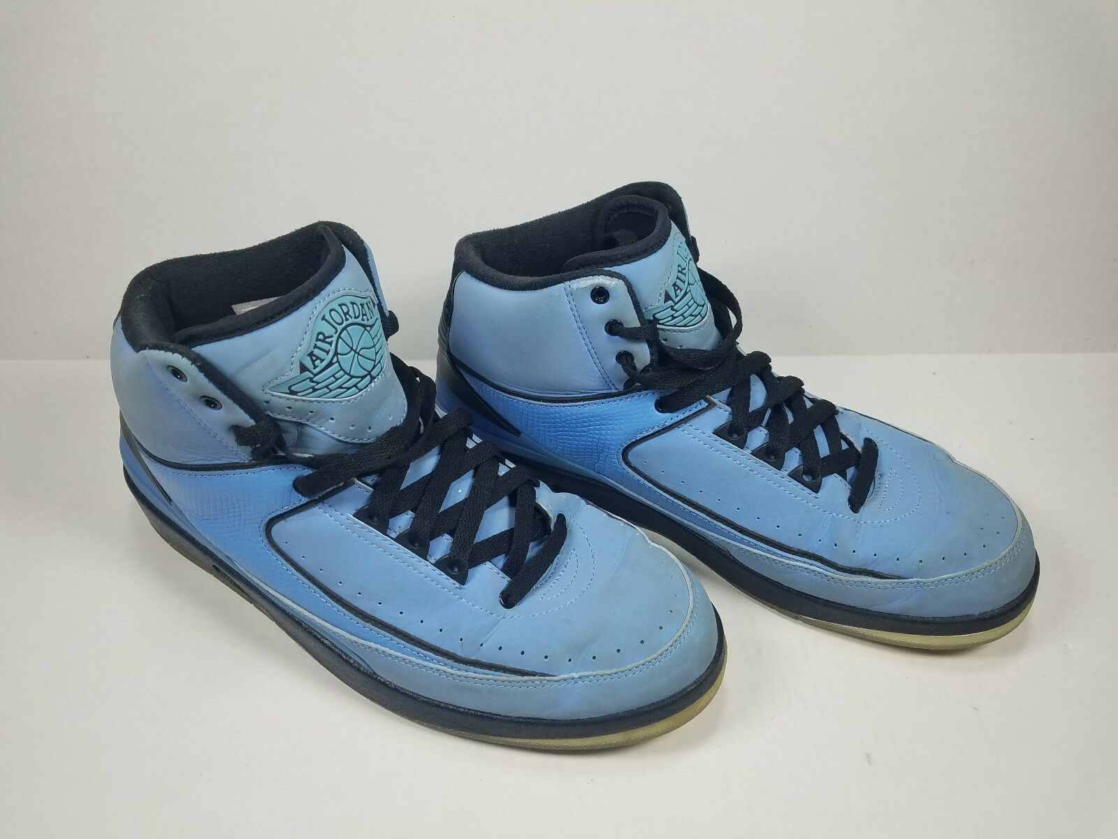 Nike Air Jordan 2 395709-401 Retro Retro Retro QF Univ. bluee Black-White Size 9.5 (2010) VTG 60c924