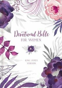 KJV-Devotional-Bible-for-Women-floral-Ellie-Claire-2016-Hardcover
