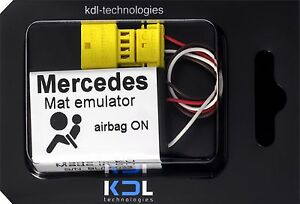 For-Mercedes-ML-W163-Bypass-Seat-Occupancy-Mat-Sensor-Airbag-SRS-Emulator