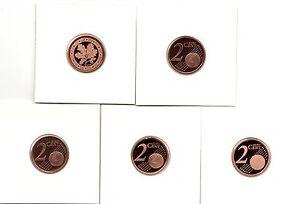 BRD 2 Cent ADFGJ stempelglanz (Wählen Sie unter: 2002 - 2021 )