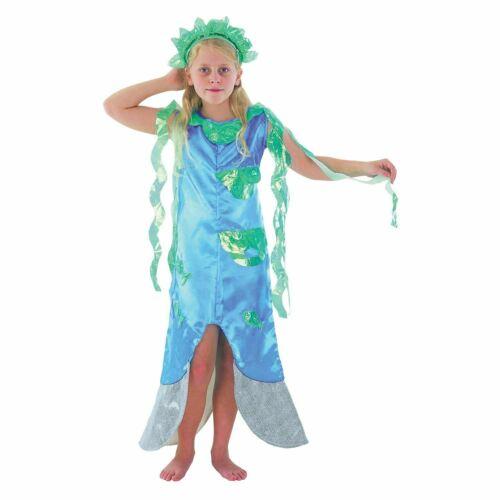 KIDS ARIAL MERMAID FAIRY TALE FANCY DRESS BOOK WEEK SIZE 4//12 YEARS