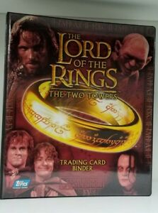 The-Lord-Of-the-Rings-The-Two-Towers-Collectible-Card-Binder-with-Promos