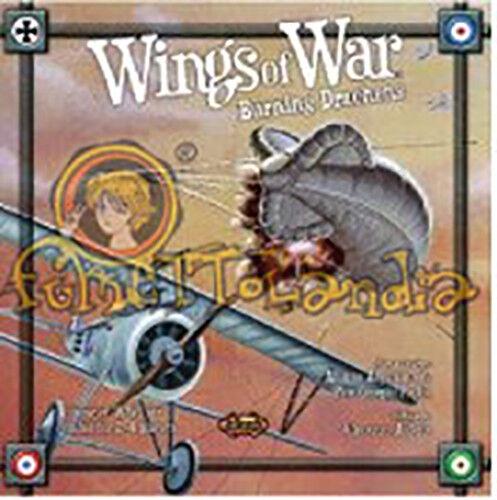 Fantasia Flight Games Wings Of War Burning Drachens WWI Air Combat Nuevo New