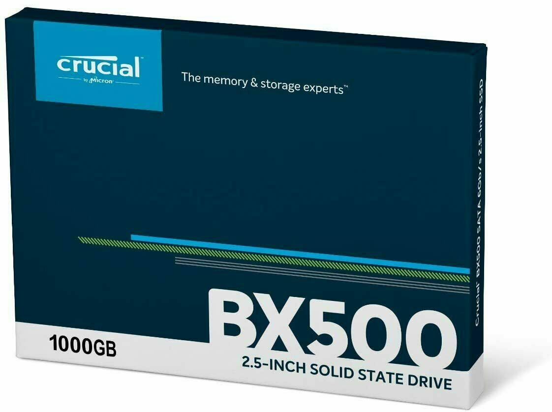 New!! Crucial BX500 1TB SSD 3D NAND SATA III 2.5-inch Internal Solid State Drive. Buy it now for 99.97