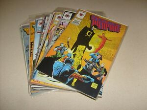 SECRET-WEAPONS-1-2-3-4-5-6-7-8-9-10-11-12-13-14-15-16-Valiant-Comic-Book-Lot-Run