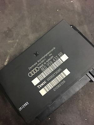 02 03 04 05 AUDI A4 S4 B6 BODY CONTROL MODULE  8E0 959 433 BB OEM