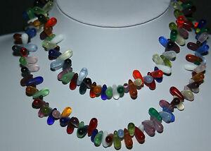 10 Böhmische Glasperlen große grüne Mali wedding trade beads Antiquitäten & Kunst