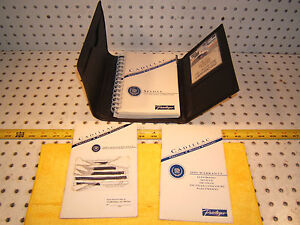 Cadillac-1995-Seville-owners-1-Manuel-amp-warranty-booklet-with-BLACK-OEM-1-Case