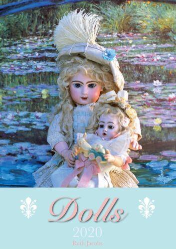 Dolls Antic Puppenkalender von Antiken Puppen Ruth Jacobs Puppenkalender