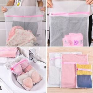Mesh-Laundry-Bags-Small-Large-Wash-Bag-for-Bra-Delicates-Lingerie-Storage-Kzs