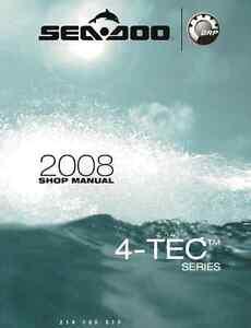 sea doo pwc 2008 2009 gti gtx rxp rxt wake service manual in rh ebay com Sea-Doo RXP Oil Change 2005 Sea-Doo RXP Supercharged