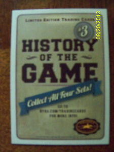 2013-SARATOGA-RACE-COURSE-History-of-the-Game-Trading-Cards-Set-3
