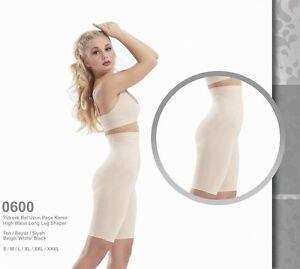 26054ddda8 Image is loading FORMeasy-High-Waist-Long-Leg-Girdle-Shapewear-Slimming-