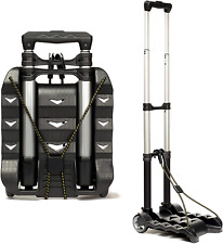 New Listingrms Folding Luggage Cart Lightweight Aluminum Collapsible And Portable Fold Up