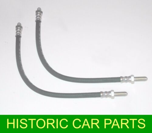 MGB ROADSTER /& MGBGT 1.8 1962-75 2 x Flexible Front BRAKE HOSES Hose