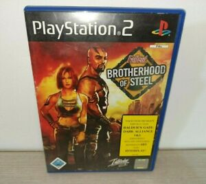 Fallout: Brotherhood of Steel PS2 Game w/ Manual PlayStation 2 Sony PAL